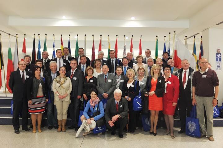 Wielkopolscy Samorządowcy z wizytą w PE w Strasburgu i Brukseli