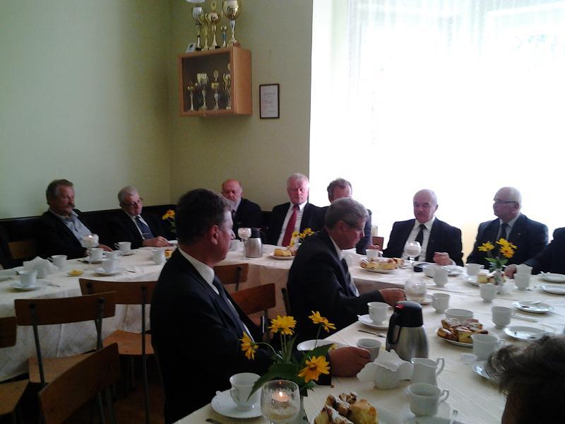 Minister Rolnictwa i Rozwoju Wsi, Poseł na Sejm RP Stanisław Kalemba na spotkaniu z rolnikami Gminy Kaczory