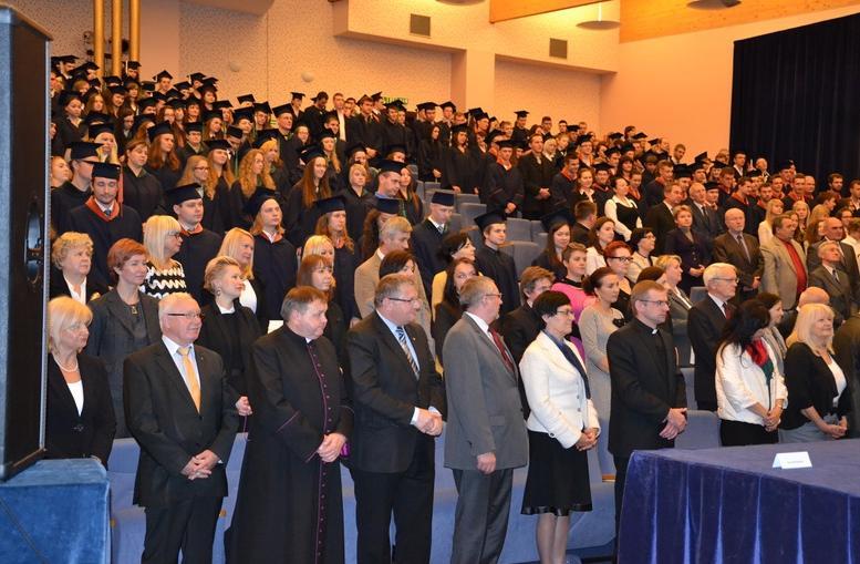 Inauguracja roku akademickiego w Państwowej Wyższej Szkole Zawodowej w Kaliszu