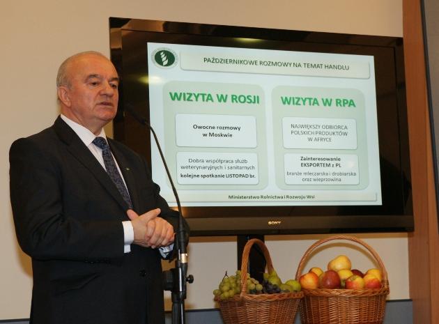 Minister Kalemba: Sektor rolno-spożywczy jest mocnym filarem polskiej gospodarki