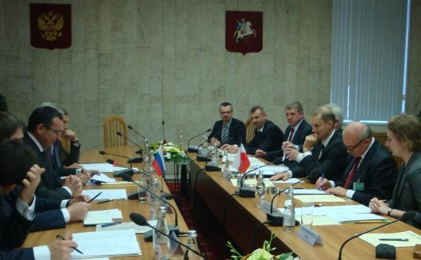 Dobre rozmowy w Moskwie