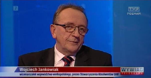 Gość TELESKOPU –  TVP Poznań