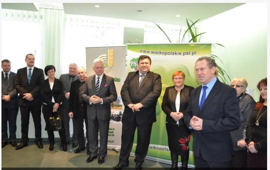 Otwarcie Biura Parlamentarnego PSL oraz Biura Powiatowego WIR w Pleszewie
