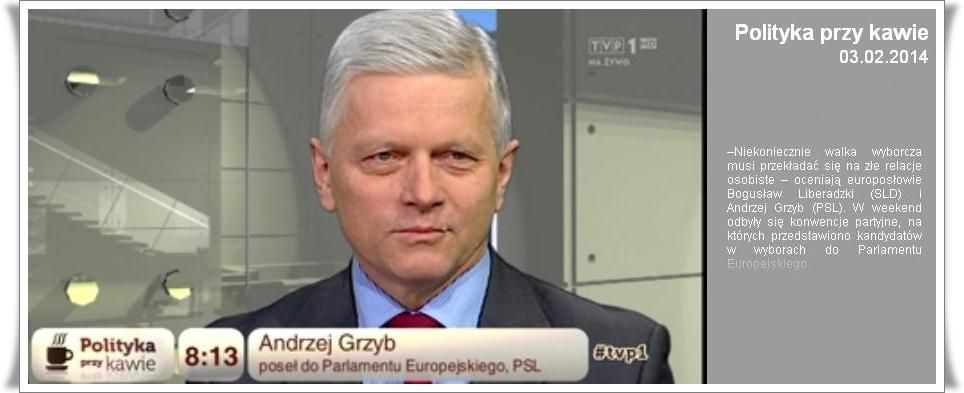 """Warto zobaczyć – """"Polityka przy kawie"""" TVP1"""