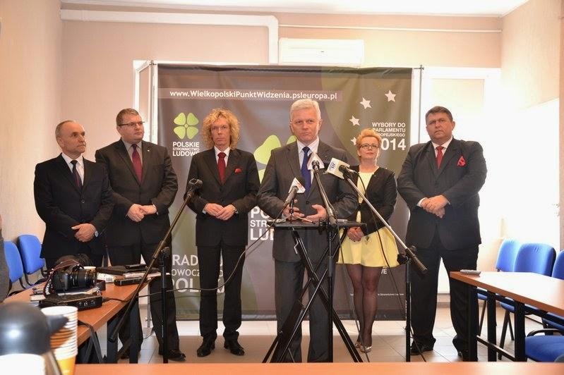 Kandydaci PSL do PE tym razem odwiedzili Konin i Kalisz