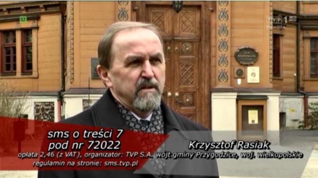 Wójt Gminy Przygodzice Krzysztof Rasiak w finale konkursu Wójt roku 2013