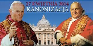 Jan XXIII i Jan Paweł II świętymi