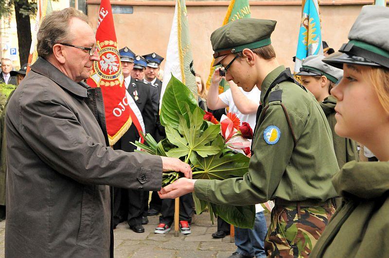 222. rocznica uchwalenia Konstytucji 3 Maja świętowana w Poznaniu