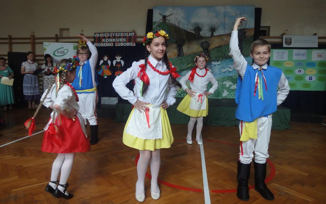 VIII Międzyszkolny Konkurs Piosenki Ludowej