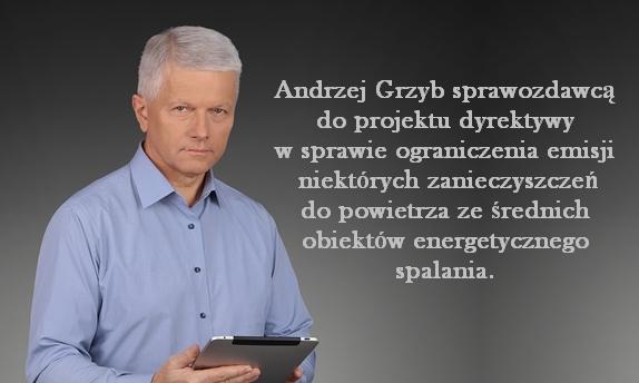 Poseł Andrzej Grzyb sprawozdawcą!