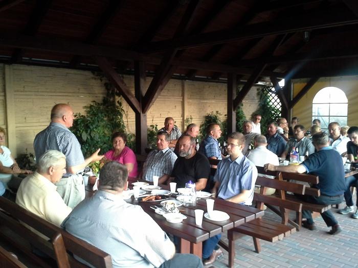 Spotkanie w Wargowie (powiat obornicki)