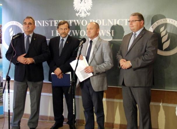 Konferencja prasowa dotycząca systemu płatności bezpośrednich na lata 2015-2020