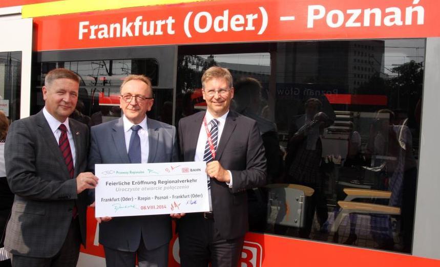 REGIOekspres z Poznania do Frankfurtu nad Odrą