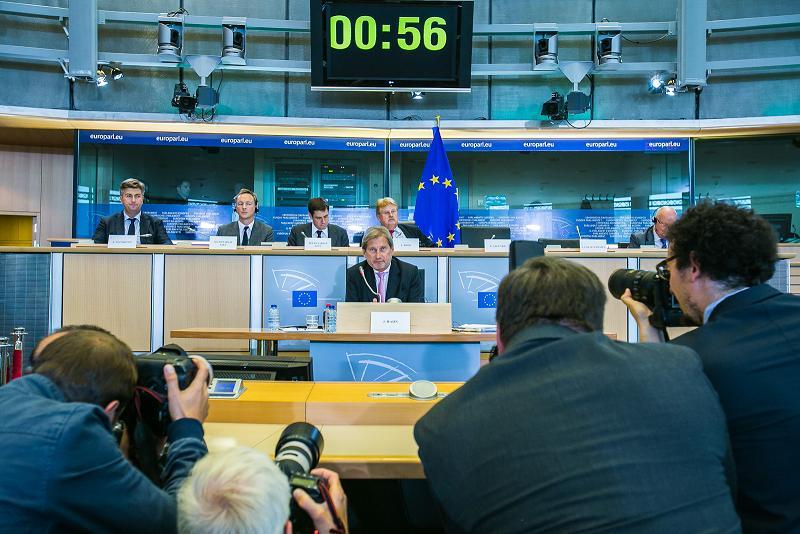 #Ephearings2014 Johannes Hahn – doświadczenia polityki regionalnej UE