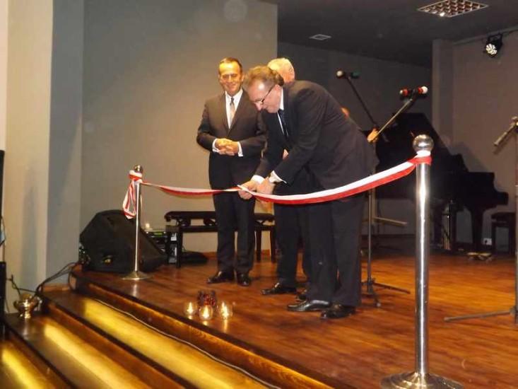 Uroczystość Otwarcia Domu Kultury w Łubowie