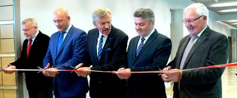Inauguracja w nowym budynku