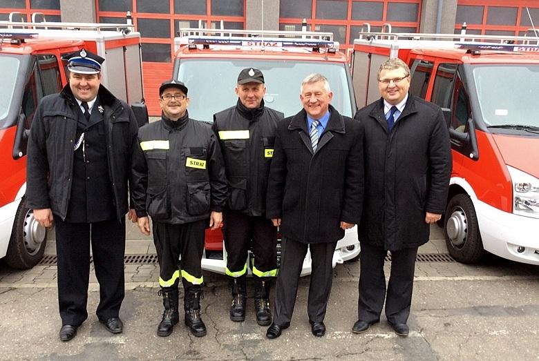 Uroczyste przekazanie sprzętu dla Wielkopolskich Strażaków