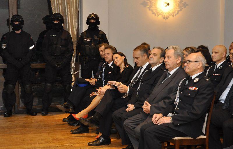 Spotkanie Prezesa Waldemara Pawlaka ze strażakami