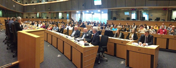 Seminarium studentów Uniwersytetu Ekonomicznego w Parlamencie Europejskim