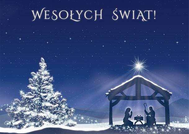 Spokojnych Świąt Narodzenia Pańskiego