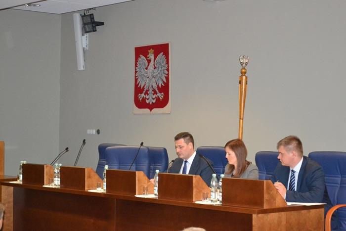 Pierwsza Sesja Semiku Województwa Wielkopolskiego V kadencji