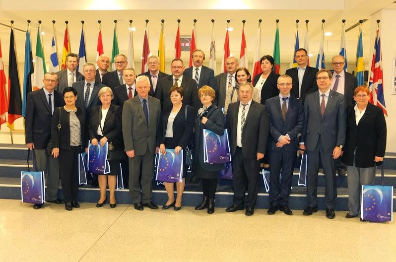 Banki Spółdzielcze zrzeszone w Poznaniu w Parlamencie Europejskim