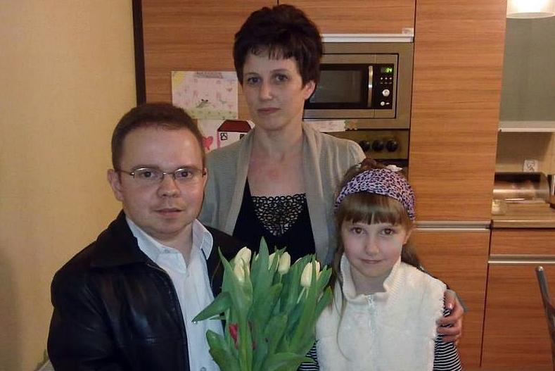 Kwiaty dla pań od sołtysa