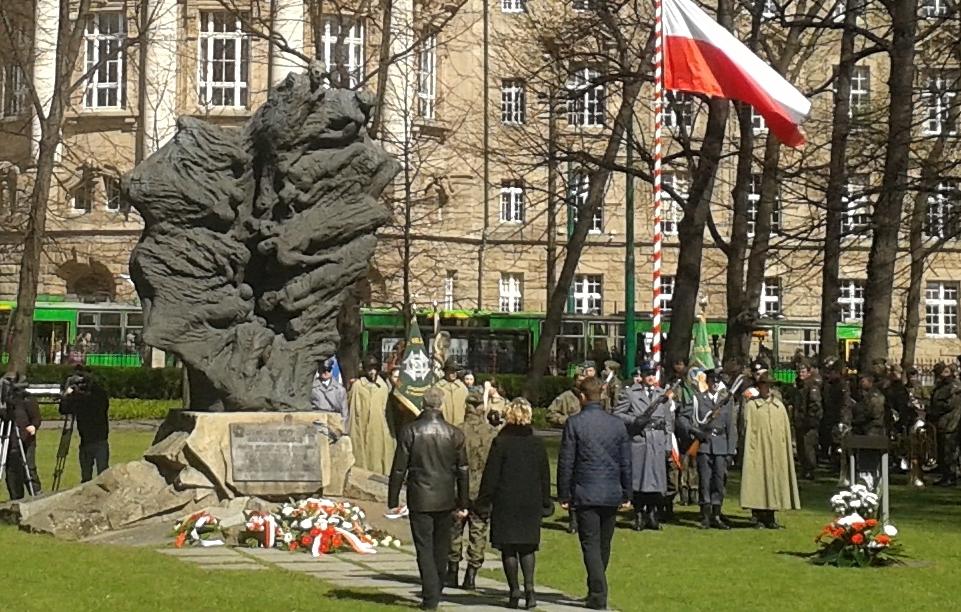 Pamięci zamordowanych w Katyniu