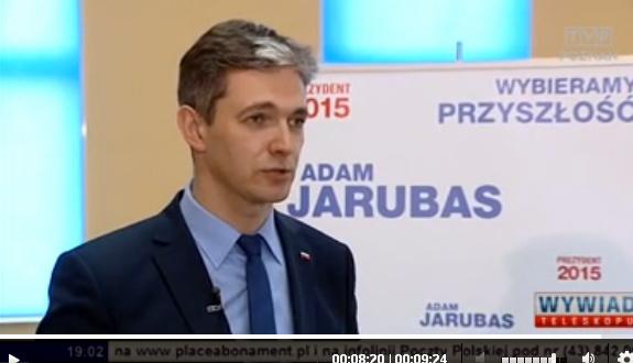 KAMPANIA PREZYDENCKA ADAMA JARUBASA W MEDIACH