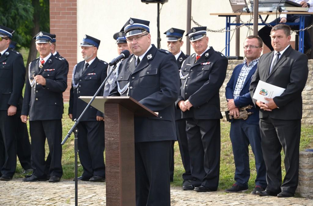 80 lat OSP w Łęce Opatowskiej