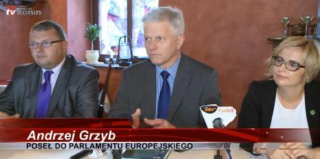 Konferencja prasowa w Koninie
