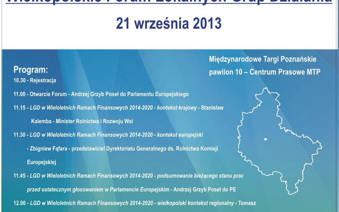 Wielkopolskie Forum Lokalnych Grup Działania