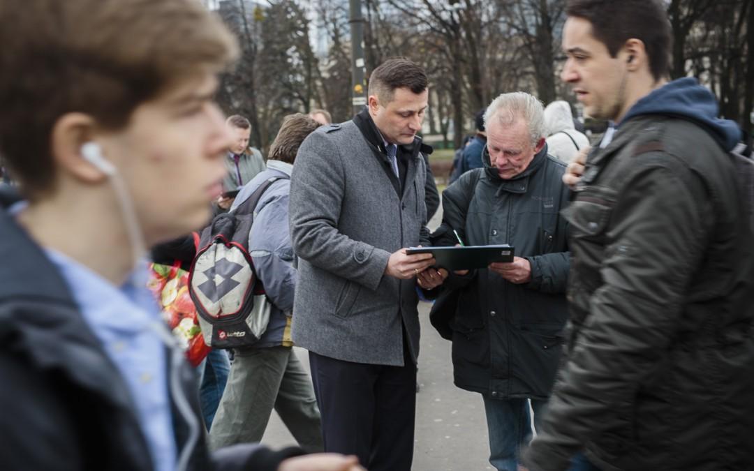 """Zbieramy podpisy pod obywatelskim projektem """"Dobra emerytura"""""""