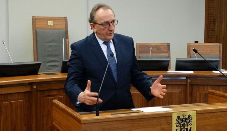 Wicemarszałek Prezesem Towarzystwa Mikołajczyka