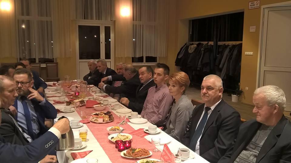 Spotkanie opłatkowe w Lesznie