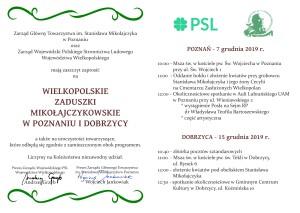 Zaproszenie Zaduszki 2019 - Wielkopolska2
