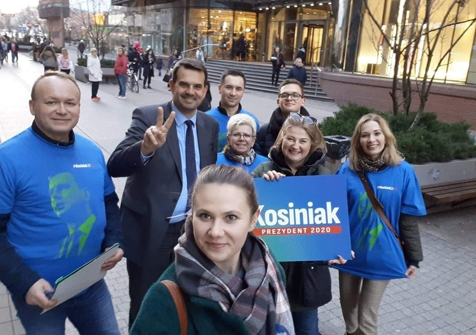 spacer w Poznaniu z #druzynaKosiniaka