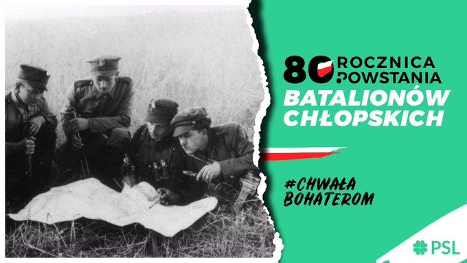 80. rocznica powstania armii chłopskiej. Przesłania i wzorce ciągle żywe