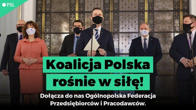 Koalicja Polska podpisała porozumienie z przedsiębiorcami