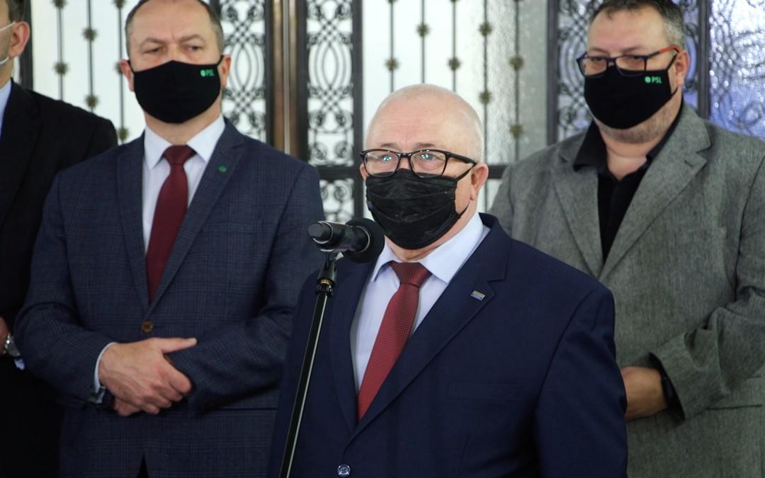 Koalicja Polska podpisała porozumienie o współpracy z partią Ślonzoki Razem