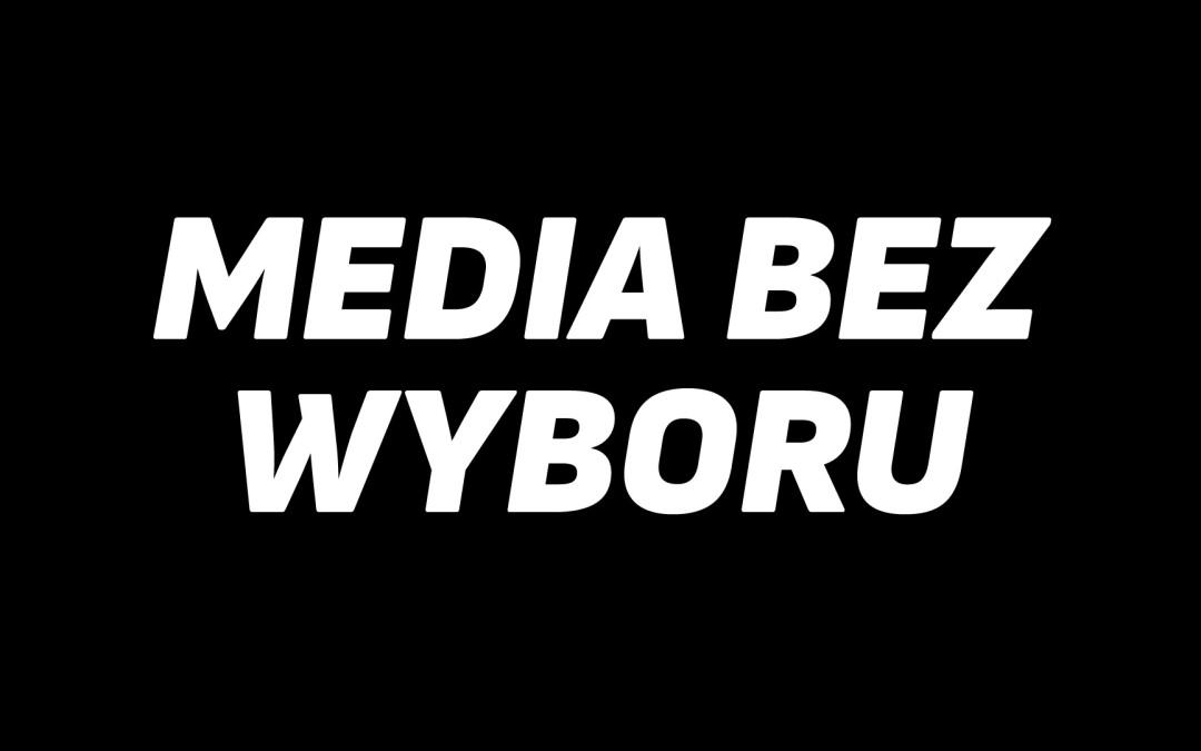 Mówimy NIE zamachowi na wolne media!